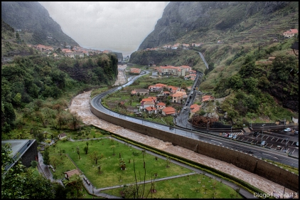 Bad weather in Madeira Island I