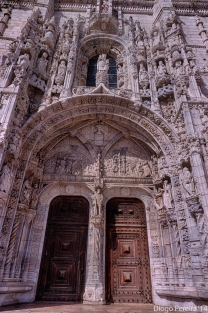 Hieronymites Monastery Door