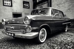 opel kapitän, old car from the 60's